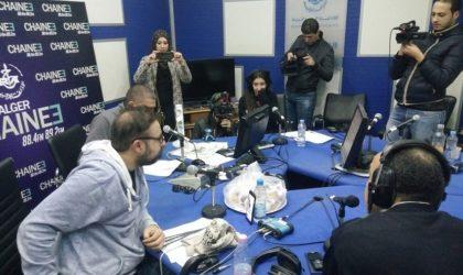 Sit-in de protestation des journalistes de la chaîne 3