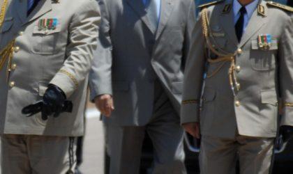 Le directeur central de la sécurité de l'armée confirmé dans son poste