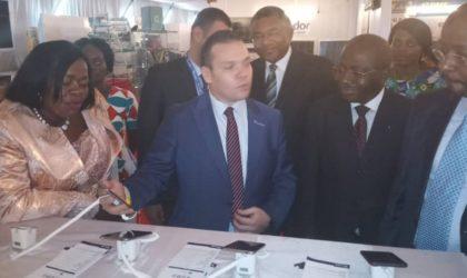 La participation de Condor à l'exposition spécifique des produits algériens à Libreville