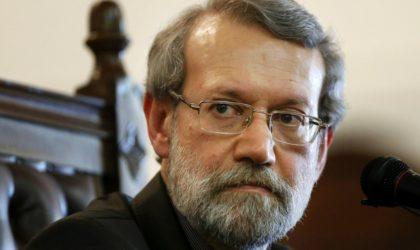 Ali Larijani: «Téhéran luttera contre la pax americanaau Proche-Orient»