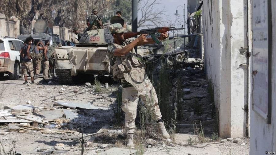 Libye armée