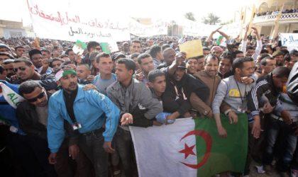 Ouargla : des citoyens revendiquent la promotion du développement socio-économique