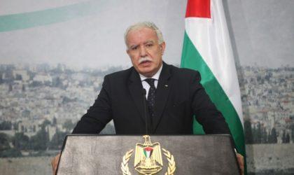 Expropriation de 700 Palestiniens d'El-Qods-Est : le MAE palestinien condamne