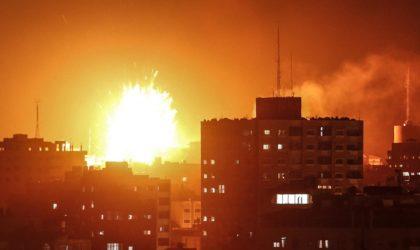 Palestine : l'aviation israélienne frappe plusieurs sites à Ghaza