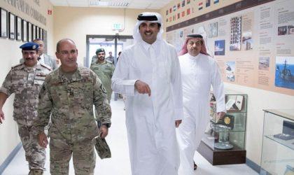 Une délégation de l'ANP visite la base militaire américaine au Qatar
