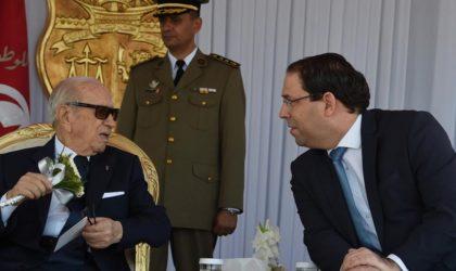 Tunisie : nouveau clash entre Essebsi et Chahed