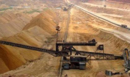 Partenariat algéro-chinois pour l'exploitation du phosphate à Tébessa