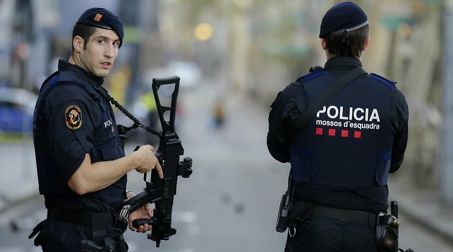 Espagne, police