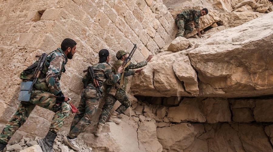 soldats terroristes