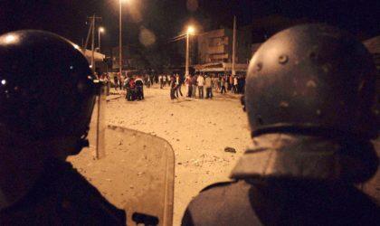 Violences après le match USMA – CSC : 30 personnes arrêtées et 10 policiers blessés