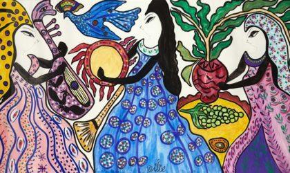 Hommage à l'artiste peintre Baya