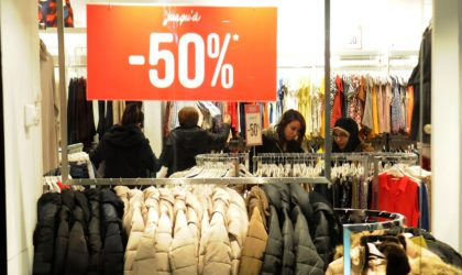 Commerce : soldes d'hiver en janvier