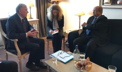 Abdelkader Messahel s'entretient avec Horst Köhler à Genève