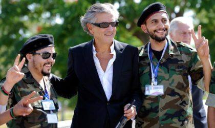Quand le sioniste Bernard-Henri Lévy vole au secours du régime de Macron