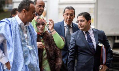 L'image qui prouve la fausseté du Makhzen à la table ronde de Genève
