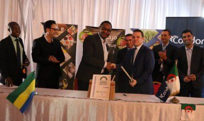 Condor signe deux mémorandums d'entente au Gabon