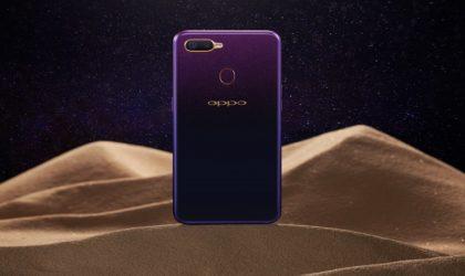 Oppo F9 édition Starry Purple enfin disponible sur le marché algérien