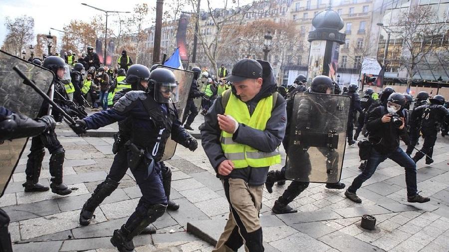 barricades, Gilets jaunes