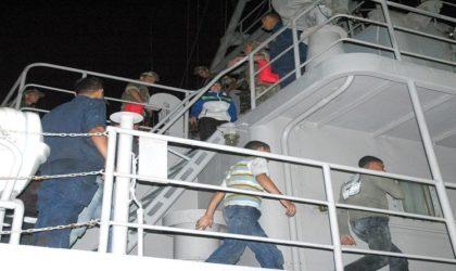 Emigration clandestine : 34 personnes interceptées au large d'Oran