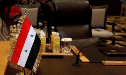 L'Algérie et la Tunisie s'emploient à réhabiliter la Syrie à la Ligue arabe