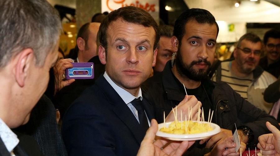 Macron médias
