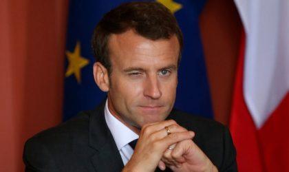 La France de Macron sur un volcan