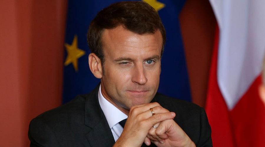 Macron Gilets jeunes