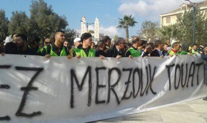 Béjaïa : la marche pour les libertés s'achève dans le calme