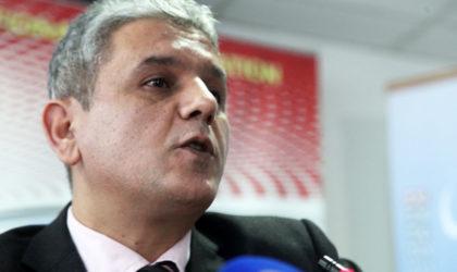 Mohcine Belabbès dénonce «le refus du système de permettre la construction d'un Etat de droit»