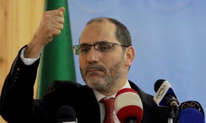 Abderrazak Mokri décrète : «L'ère du président Bouteflika est terminée»