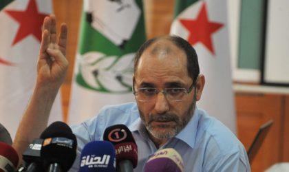 Abderrezak Mokri réclame le report de la présidentielle
