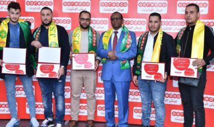 Ooredoo récompense les points de vente partenaires des wilayas de Tizi Ouzou, Boumerdès et Bouira