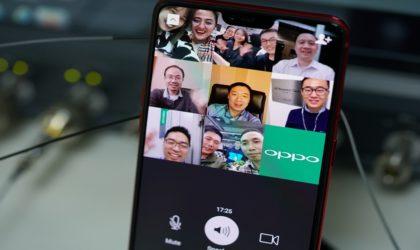 Oppo effectue le premier appel vidéo de groupe 5G au monde sur un smartphone
