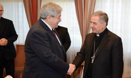 Le cardinal Angelo Giovanni Becciu : «Le peuple algérien est accueillant et hospitalier»