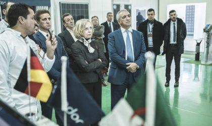 L'ambassadrice d'Allemagne visite les unités du groupe Condor