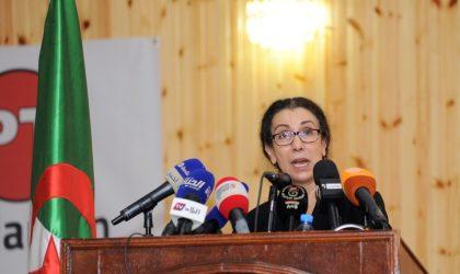 Louisa Hanoune : «Il y a d'inquiétantes fissures au sommet de l'Etat»