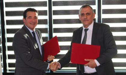 Signature d'un protocole d'accord de coassurance et de coopération entre la SAA et AXA Algérie