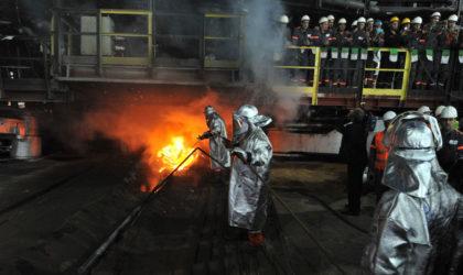Complexe Sider El-Hadjar : reprise des activités de production