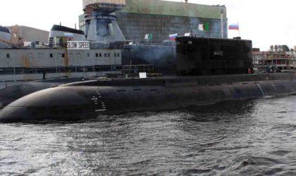 L'Algérie renforce sa flotte marine avec un sixième sous-marin russe