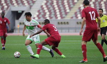 Victoire de la sélection algérienne A' face au Qatar en amical