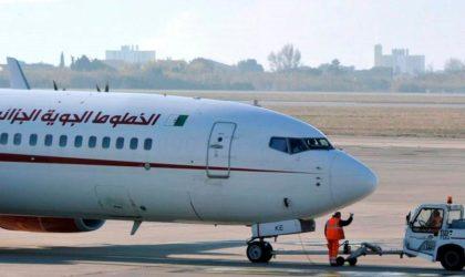 Un avion d'Air Algérie retourne à l'aéroport de Barcelone après son décollage