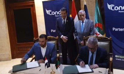 Condor signe quatre protocoles d'accord à la Foire intra-africaine du Caire