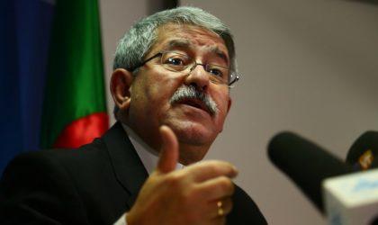 Ouyahia «n'a pas été interdit» de présenter sa politique générale à l'APN