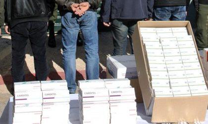 250 000 comprimés psychotropes d'une valeur de 10 milliards de centimes saisis à Alger