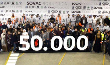 50 000e véhicule sorti de la chaîne de production Sovac en 2018