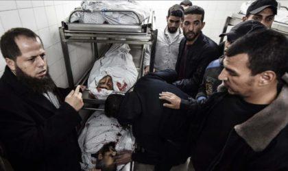 Gaza : plus de 253 Palestiniens tués par l'armée d'occupation