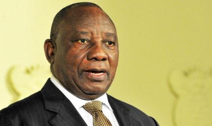 L'Afrique du Sud réaffirme son soutien au peuple sahraoui