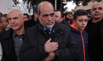Bouguerra Soltani révèle : «J'ai échappé à une tentative d'assassinat»