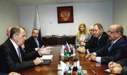 Sergueï Lavrov à Alger : Libye, Syrie et Sahel au menu
