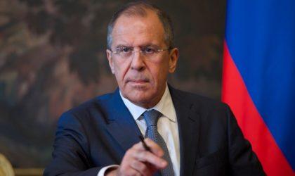 Sergueï Lavrov : «Il est vain de fixer des dates artificielles pour la tenue d'élections» en Libye